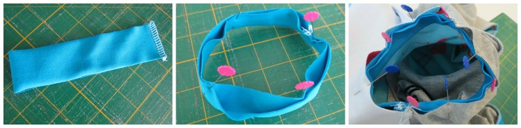 How to add the cuffs