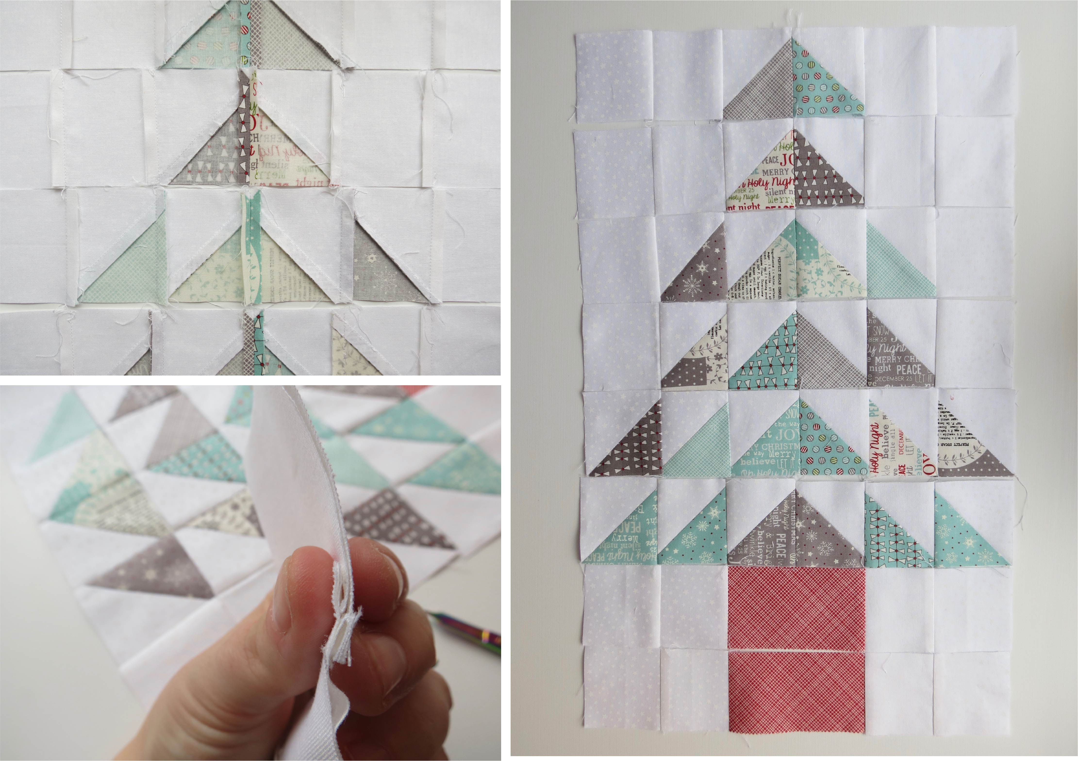 4.piecing squares and rows