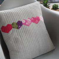 A heart cushion is for life, not just for Valentine's Day