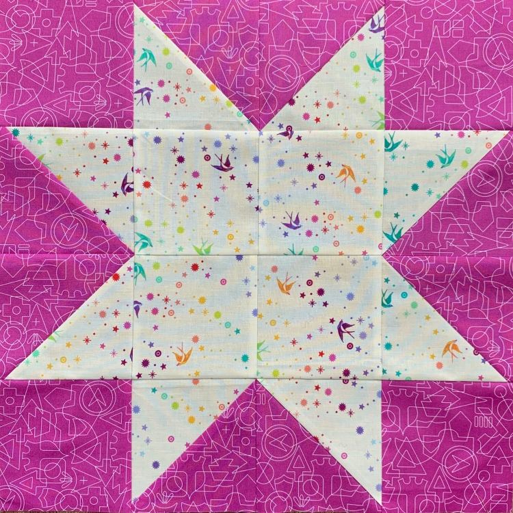 Simple Star quilt block