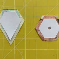 EPP shapes cut out